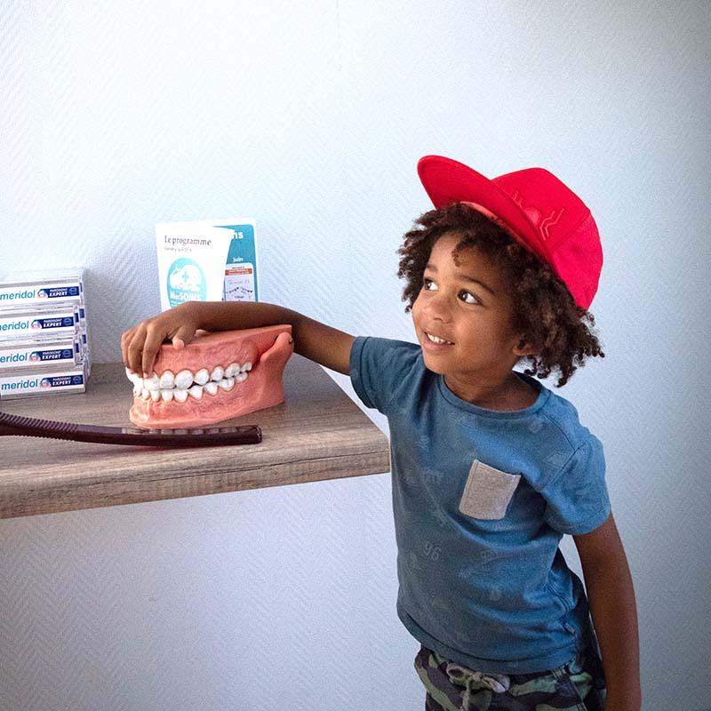 Enfant prévention dentaire